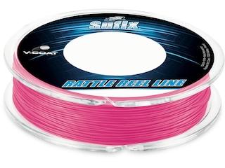 Sufix Rattle Reel V-Coat Fishing Line 20lb 50yd Hot Pink