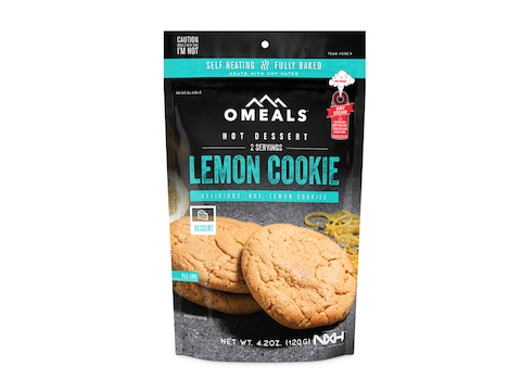 OMEALS Lemon Cookie Self Heating Meal