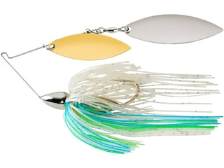 War Eagle Screamin Eagle Nickle Frame Double Willow Spinnerbait 3/4oz Blue Herring Gold/Silver
