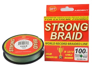 Ardent Strong Braided Fishing Line 100lb 150yd Green