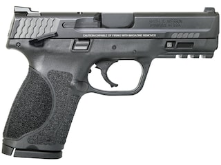 """Smith & Wesson M&P9 M2.0 Compact Pistol 9mm Luger 4"""" Barrel 15-Round Black with Thumb Safety"""