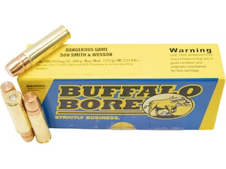 500 S&W Magnum Ammo for a M500 Revolver | Shop Now and Save