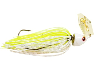 Z-Man Chatterbait Freedom Bladed Jig Chartreuse/White 1/2 oz
