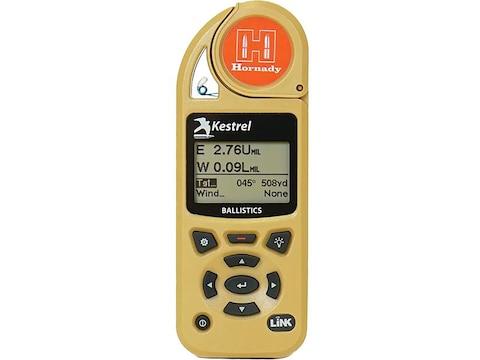 Kestrel 5700 Hand Held Weather Meter with LINK with Hornady 4DOF Desert Tan