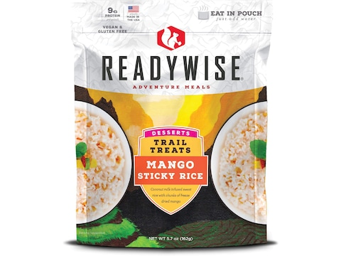 ReadyWise Trail Treats Mango Sticky Rice Freeze Dried Food