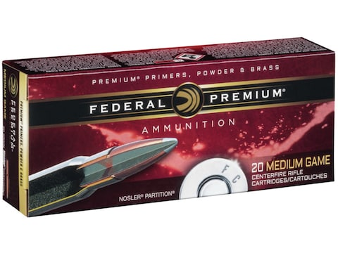 Federal Premium Ammunition 7mm Remington Magnum 150 Grain Nosler Ballistic Tip Box of 20