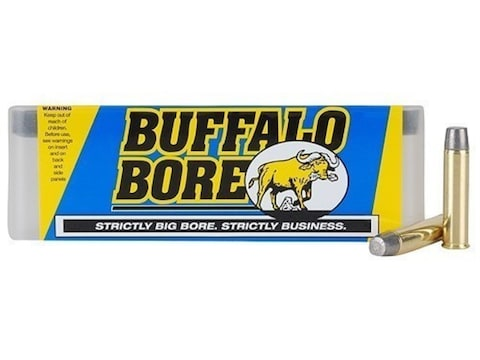 Buffalo Bore Ammunition 460 S&W Magnum 360 Grain Lead Flat Nose Box of 20