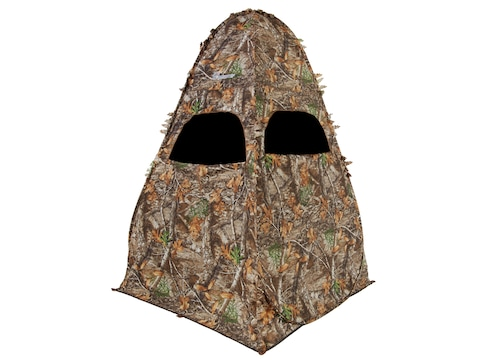 """Ameristep Outhouse Ground Blind 78"""" x 60"""" x 60"""" Polyester Realtree Edge Camo"""