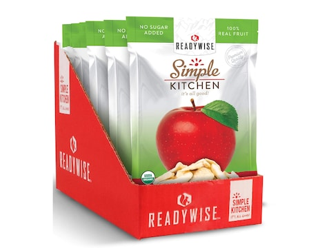 ReadyWise Simple Kitchen Organic Apple Single Freeze Dried Food