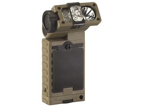Streamlight Sidewinder Rescue Flashlight LED with 2 AA Batteries Aluminum Coyote