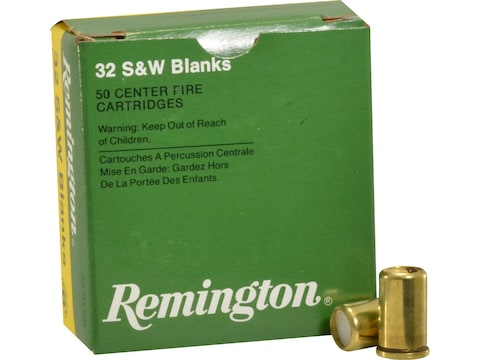 Remington Blank Ammunition 32 S&W Box of 50