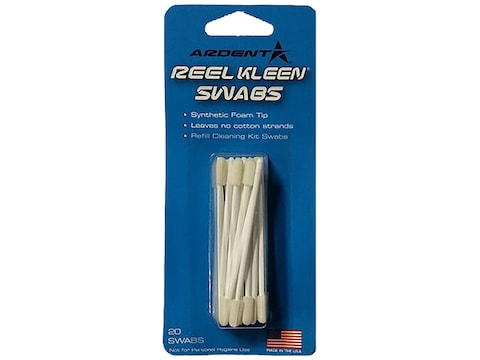 Ardent Reel Cleaning Swabs 20 pack