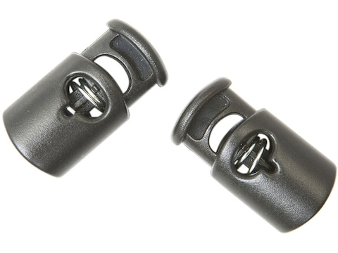Gear Aid Ellipse Replacement Cord Lock Toggle Polymer Black Pack of 2
