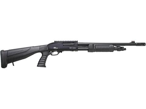 "Iver Johnson Shotgun 12 Gauge 18"" Barrel 4-Round, Synthetic Black Pistol Grip Stock, Pi..."