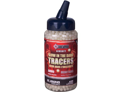 Game Face Tracer 6mm BB .12 Gram Glow Pack of 2,000