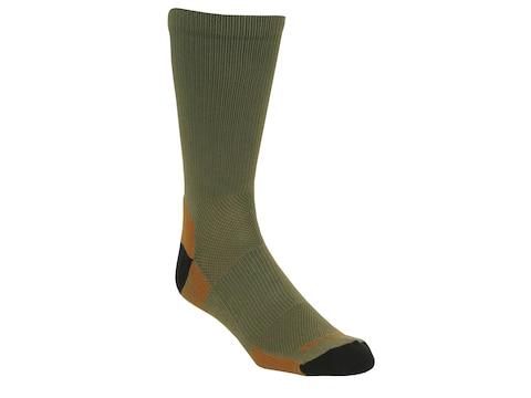 Kenetrek Men's Canyon Lightweight Crew Socks Synthetic Blend Green 1 Pair