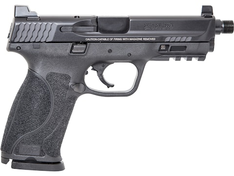"Smith & Wesson M&P9 M2.0 Pistol 9mm Luger 4.625"" Threaded Barrel 17-Round Black"