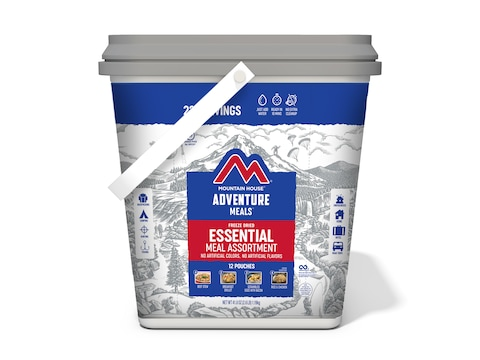 Mountain House Essential Bucket Freeze Dried Food 24 Serving