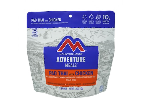 Mountain House Pad Thai With Chicken Rice and Vegetables Freeze Dried Food 3.9 oz