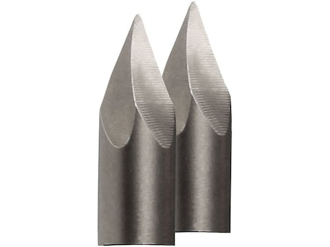 AMS Cyclone Bowfishing Arrow Point Replacement Tip Steel Pack of 2