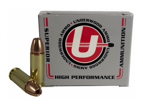 Underwood Ammunition 38 Super +P 105 Grain Lehigh Controlled Fracturing Hollow Point Le...