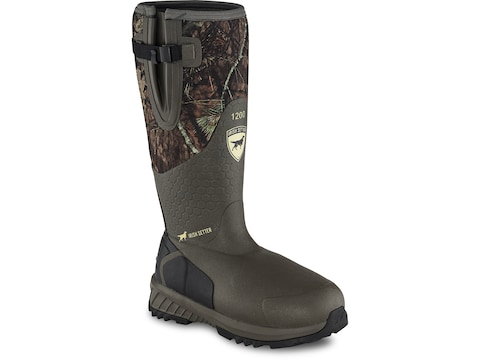 "Irish Setter Mudtrek 17"" 1200 Gram Insulated Hunting Boots Rubber/Neoprene Men's"