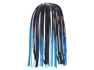 Z-Man Ez Skirt 3pk Black Blue Chrome/Blue Tips