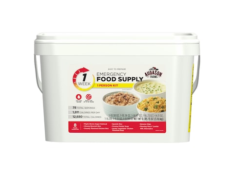 Augason Farms 1-Week 1-Person Emergency Food Supply Kit 6 lbs