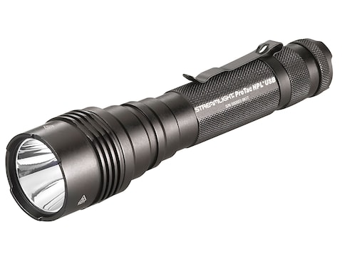 Streamlight ProTac HPL USB Flashlight LED with Rechargeable 18650 Battery Aluminum Black