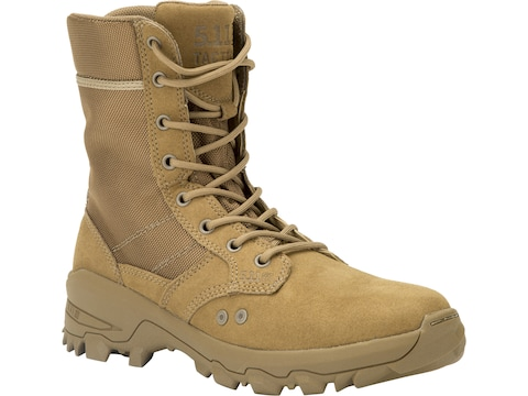 """5.11 Speed 3.0 Jungle 8"""" Tactical Boots Leather and Nylon Dark Coyote Men's"""