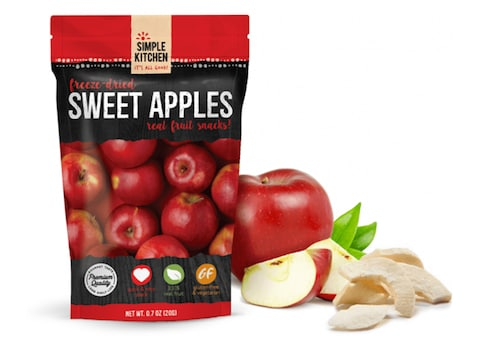 ReadyWise Simple Kitchen Sweet Apples Freeze Dried Food