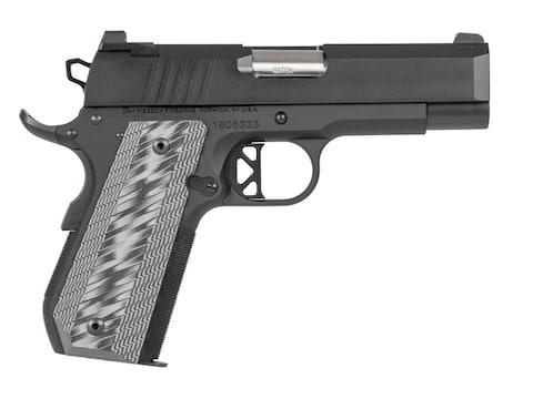 """CZ-USA Dan Wesson ECP 9mm Luger 4"""" Barrel Black Slide G10 Grips"""
