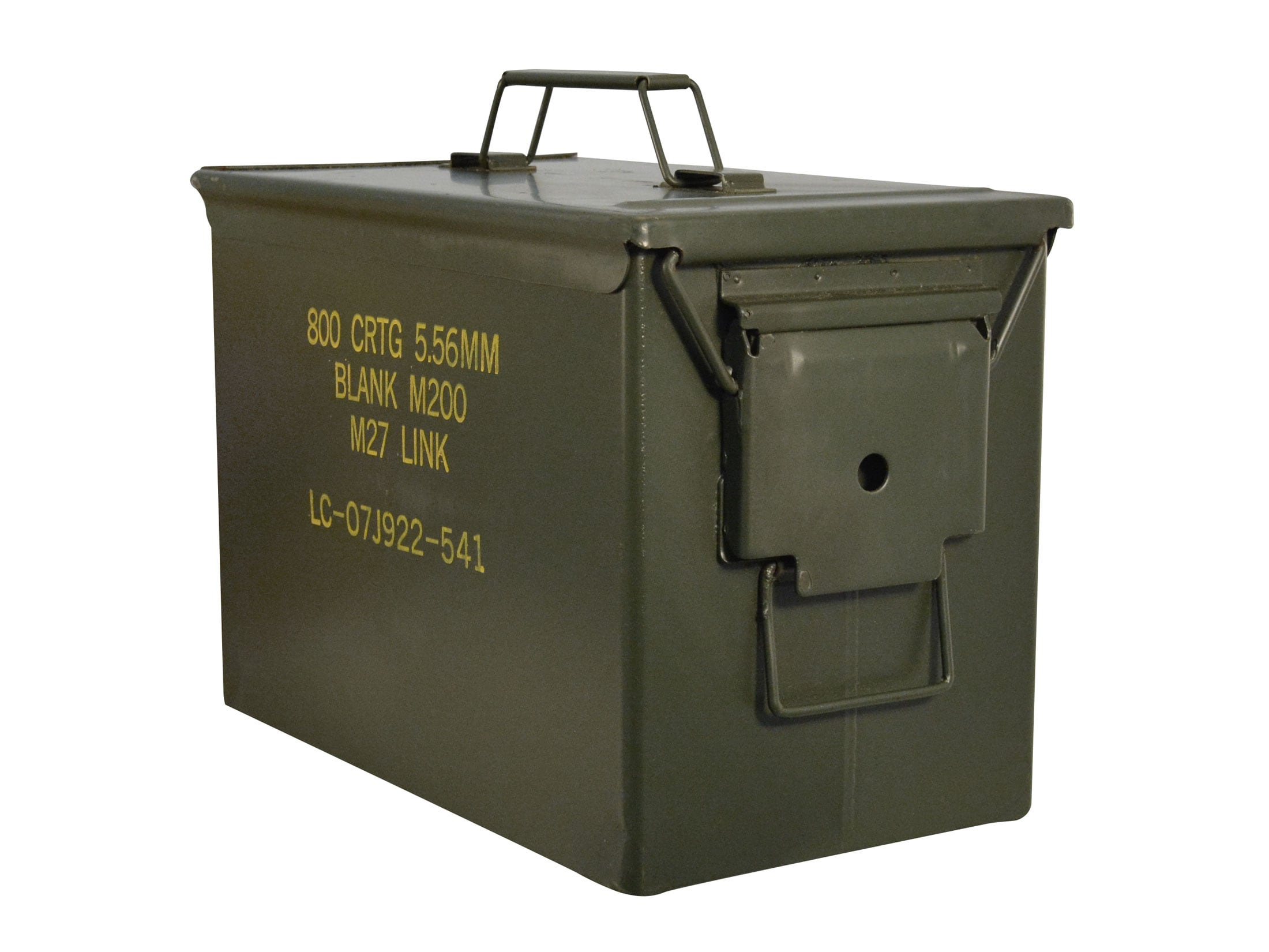 Military Surplus Fat 50 Ammo Can 50 Cal Grade 2