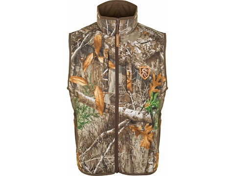 Drake Non-Typical Men's Lightweight Scent Control Camo Tech Vest Polyester
