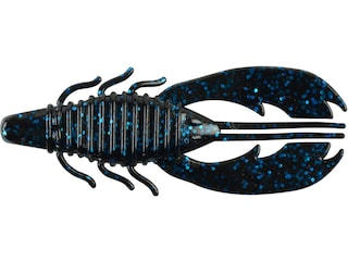 Berkley PowerBait Craw Fatty 3.25 Black Blue Fleck