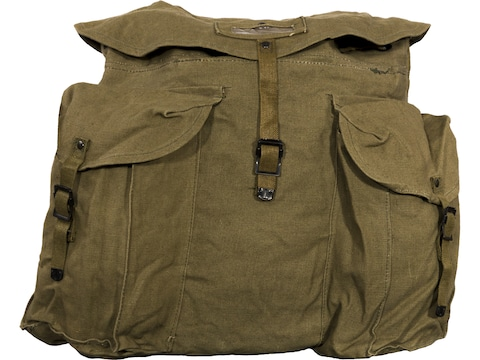 Military Surplus Italian Rucksack Grade 2 Khaki Large