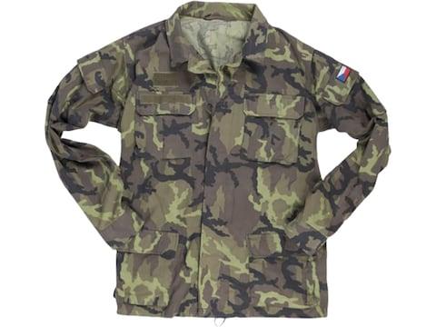 Military Surplus Czech M95 Field Jacket Camo