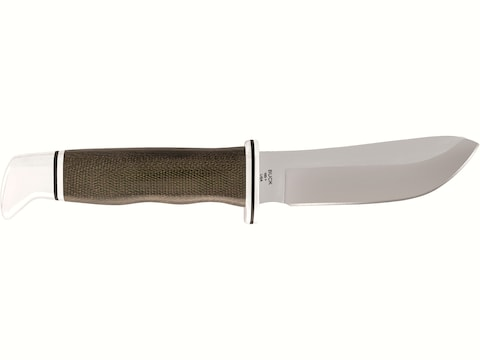 """Buck Knives 103 Skinner Pro Fixed Blade Knife 4"""" Skinner S35VN Satin Blade Micarta Hand..."""