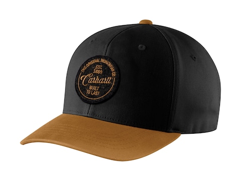 Carhartt Men's Rugged Flex Fitted Canvas Built to Last Cap