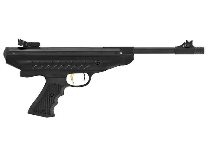Hatsan Model 25 SuperCharger Air Pistol Pellet Black Polymer Grips Black Frame