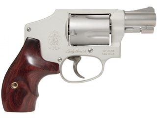 """Smith & Wesson Model 642LS Ladysmith Revolver 38 S&W Special +P 1.875"""" Barrel 5-Round Stainless, Wood"""