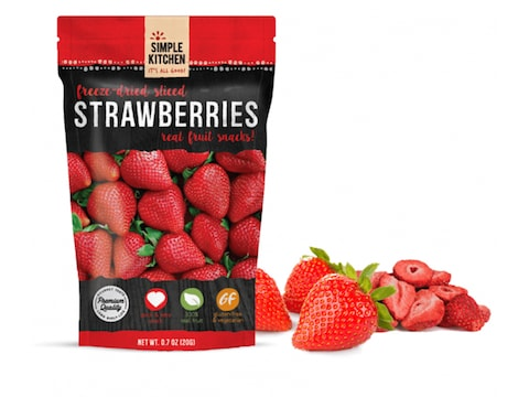 ReadyWise Simple Kitchen Strawberries Freeze Dried Food