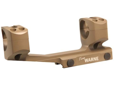 Warne 1-Piece Gen 2 Extended SKEL MSR Scope Mount Picatinny-Style with Rings