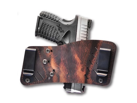 Versacarry Rapid Slide Holster Ambidextrous Universal Fit Leather
