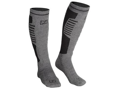 Mobile Warming Men's Standard Heated Socks Cotton/Nylon Gray