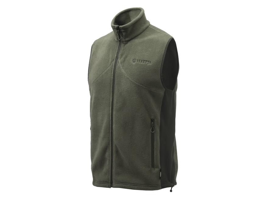 Beretta Men's Smartech Fleece Vest Polyester Green Large