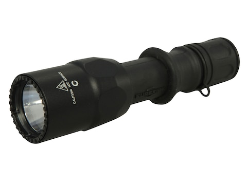 Surefire G2ZX Combat Flashlight LED with 2 CR123A Batteries Nitrolon Black
