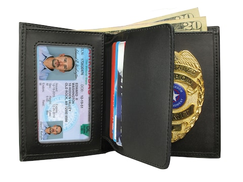 Peace Keeper Concealed Carry Badge & Wallet