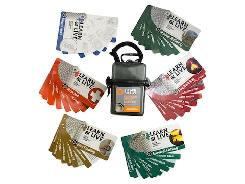 UST Learn & Live Outdoor Skills Cards Set