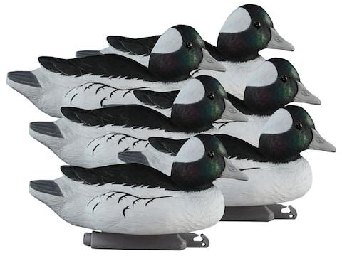 Higdon Standard Foam Filled Bufflehead Duck Decoy Polymer Pack of 6